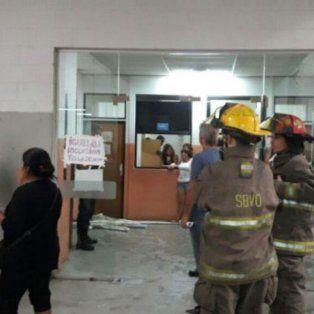 Los bomberos intervinieron para socorrer a la víctima.
