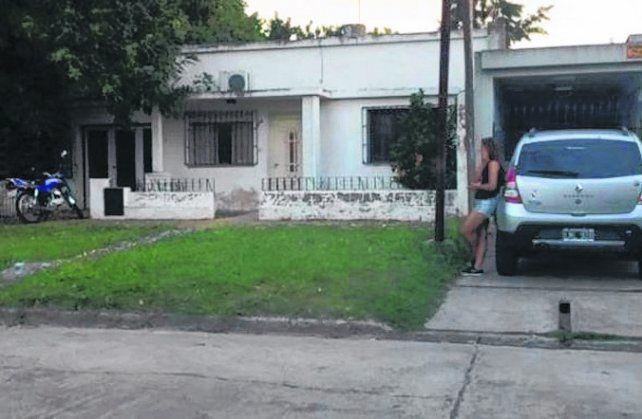 Rosario al 200. La vivienda donde estaba el niño.