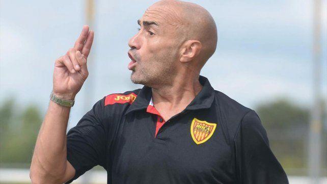 Montero. Ayer fue anunciado oficialmente como nuevo entrenador canalla.