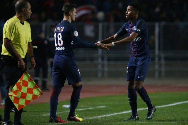 Lo Celso mostró toda su categoría en su presentación en Paris Saint Germain