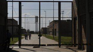el penal. Hay unos 320 presos que llevan adelante la medida de fuerza.