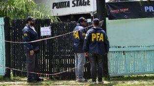 La Policía Federal realizó ayer un allanamiento en Punta Stage.