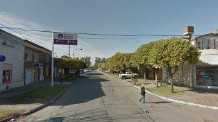 La zona de San Martín al 600