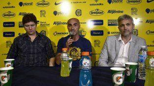 Paolo Montero fue presentado oficialmente como nuevo DT de Central.