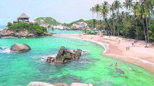 Un clásico.Santa Marta y sus bellas playas.