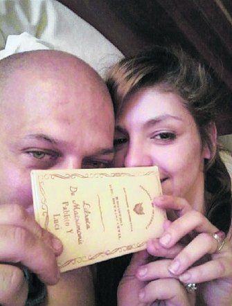 Pablo Angelina y Luciana Farías.