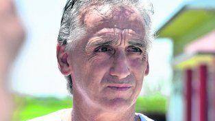 González. El ex jugador y ahora representante de Agremiados estuvo en la reunión.