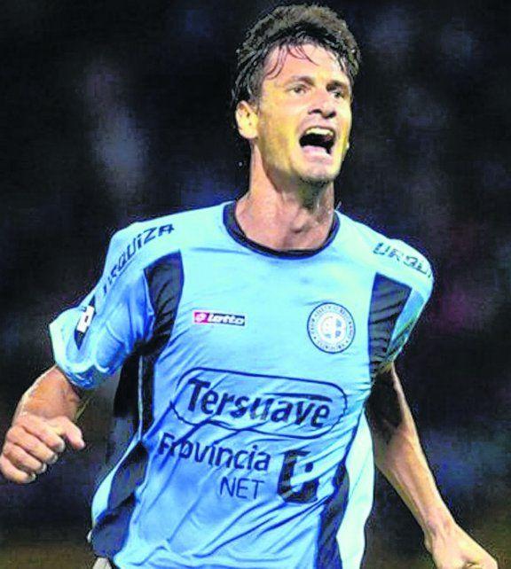 Obolo. El delantero dejó Belgrano a fin de año tras cumplir con su contrato.
