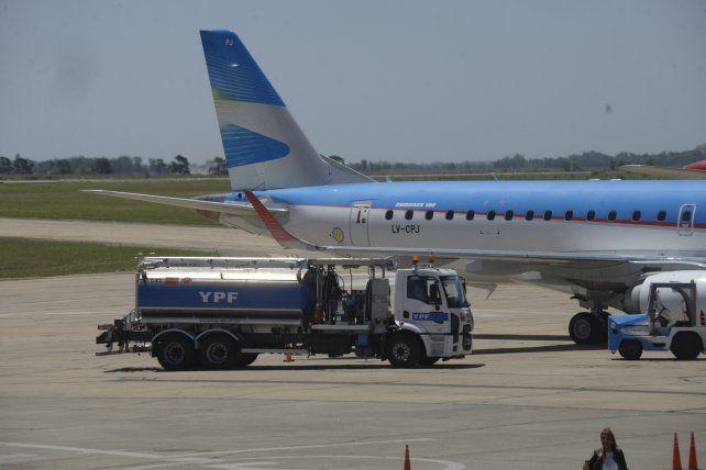 Anuncian límites a la operatoria del aeropuerto