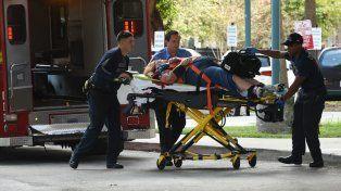 Víctimas fueron trasladadas al Broward Health Trauma Center en Fort Lauderdale.