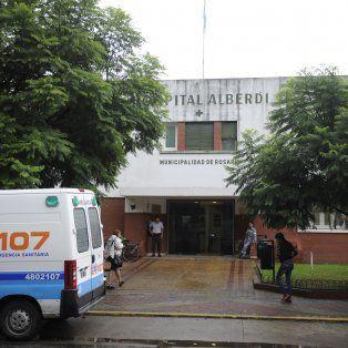 Romina fue atendida en el Hospital Alberdi de los golpes recibidos por su expareja.