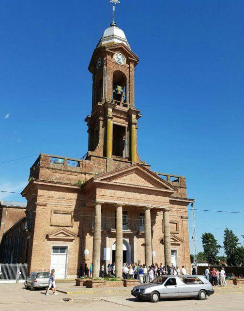 Despedida. La familia hizo una misa en la parroquia San Lorenzo Mártir.