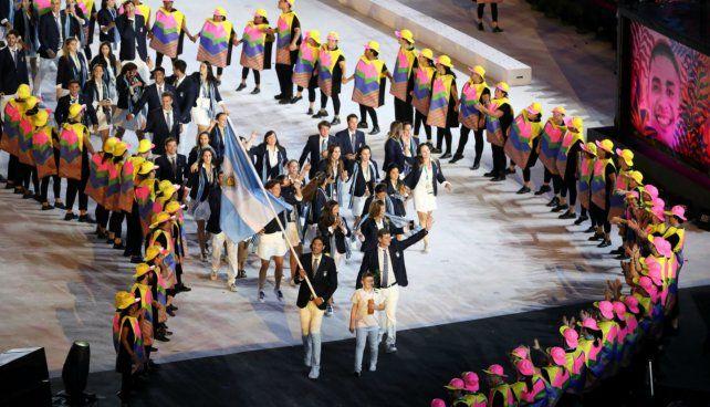 Su mejor marca. La delegación argentina en los Juegos 2016 fue récord: 213 atletas.