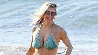 Fergie se tomó vacaciones y demostró que está en muy buena forma a sus 41 años
