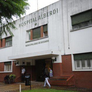 El hospital Alberdi, ubicado en avenida Puccio al 500.
