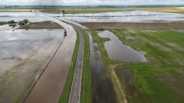 Pérdidas. La provincia estima que el fenómeno de este año ya generó al campo un déficit de 778 millones de dólares.