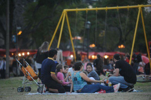 Apropiación. Buscan incentivar el uso del espacio público.