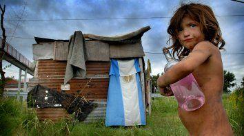 Excluidos. La UCA trazó un panorama sombrío sobre la pobreza.