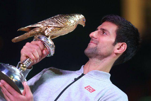 Ganador. El balcánico se impuso al número uno del mundo en la antesala del primer Grand Slam de la temporada.