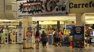 La sucursal de Carrefour dePueyrredón y Córdoba.