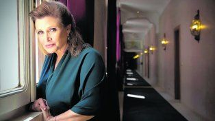 Carrie Fisher, en una urna con forma de Prozac