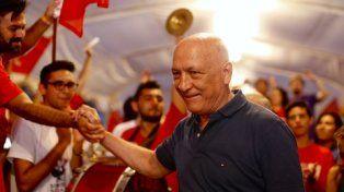 con la militancia. Bonfatti participó el sábado pasado del cierre del tradicional campamento del PS.