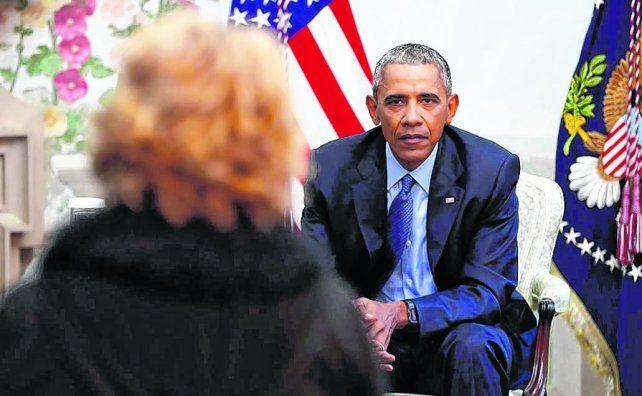 reflexivo. El presidente ha dado una serie de entrevistas