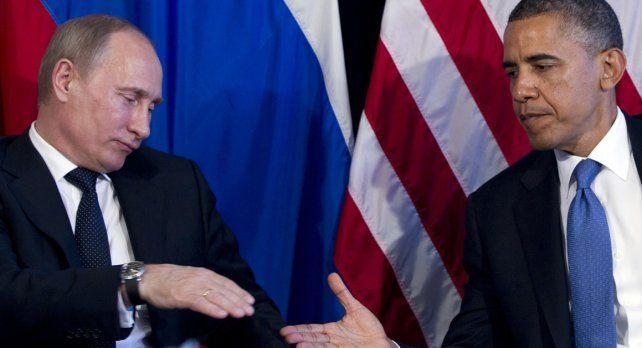 Putin les ganó por goleada a los EEUUde Barack