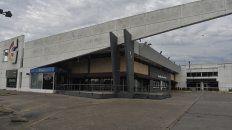 La cadena de supermercados La Gallega no abrió sus puertas ayer.