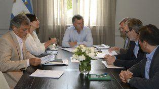 El presidente Maurcio Macri encabezó la reunión de coordinación del gabinete nacional.