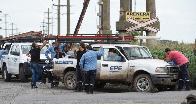 Se trata del segundo operario de la EPE fallecido en los últimos días en la provincia.