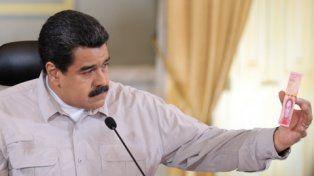 ¿abandonó? Maduro y su último fracaso: exhibe por cadena nacional los nuevos billetes