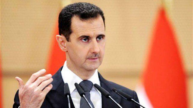 El sirio Assad descartó de plano abandonarel poder
