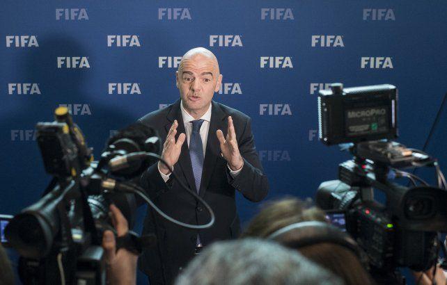 El titular de la Fifa