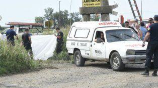 El operario de la EPE murió en el acto. Fue el viernes en Puerto San Martín.