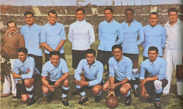 El plantel de Uruguay