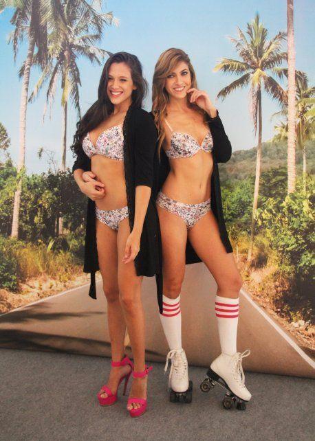 Barbie Vélez y Candelaria Ruggeri.