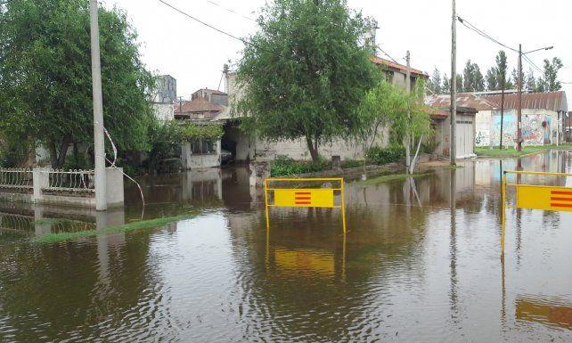 La zona de Chabás es una de las más afectadas por el temporal que se abatió sobre la región.