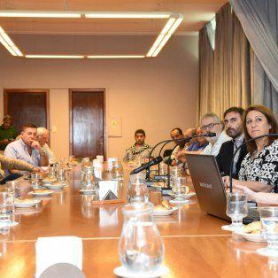 La intendenta Mónica Fein encabezó la presentación que se realizó en el Salón Belgrano de la Municipalidad.