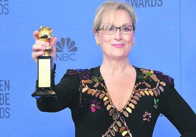 Las estrellas salieron a defender a Meryl Streep