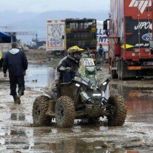 por el alud en jujuy, cancelaron la novena etapa del rally dakar