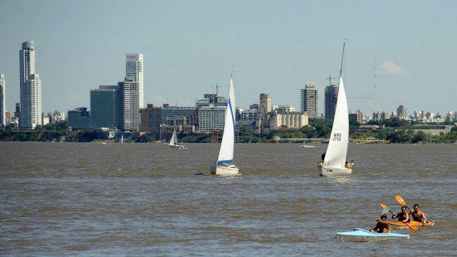 Para hoy se espera una jornada agradable en Rosario.