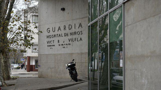 La víctima fue derivada al Hospital de Niños Víctor J. Vilela.