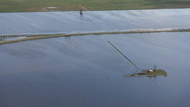 Inundaciones en el departamento Castellanos