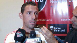 Maxi Rodríguez prefirió no hablar de su futuro y dijo que tienen seis meses más de contrato.