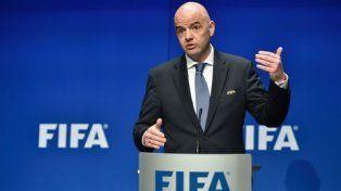 El anuncio. El titular de la Fifa