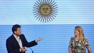 Massa y Stolbizer se presentaron como una alternativa política conjunta en diciembre último para las próximas elecciones.