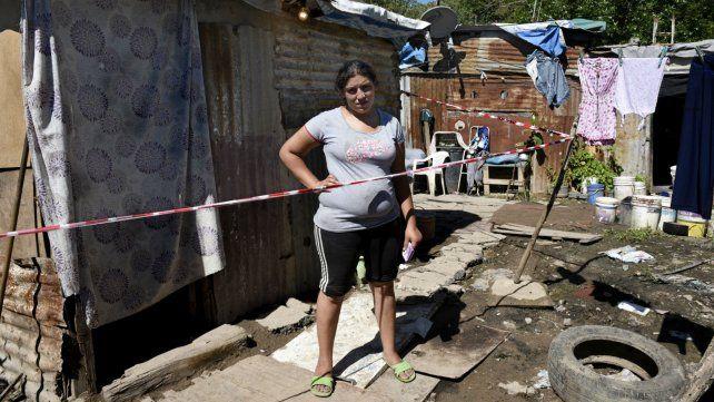 Extrema pobreza. Fernanda