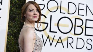 Emma Stone también participó en el video.