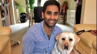 Amit Patel y su entrañable amiga y compañera de ruta
